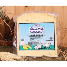 Kırklareli-Süzülmüş Kardeşler-Eski Kaşar Peyniri-400 Gr.